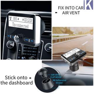 ♥KEM♥Bluetooth FM MP3 Player Transmitter Wireless Car Tuner Car Kit  Hands-fre
