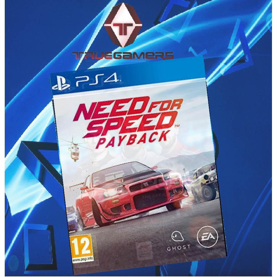Ps4 Need For Speed Payback R3 Shopee Malaysia