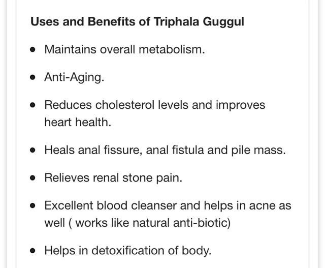 Divya Triphala Guggul 80 Tablets | Shopee Malaysia