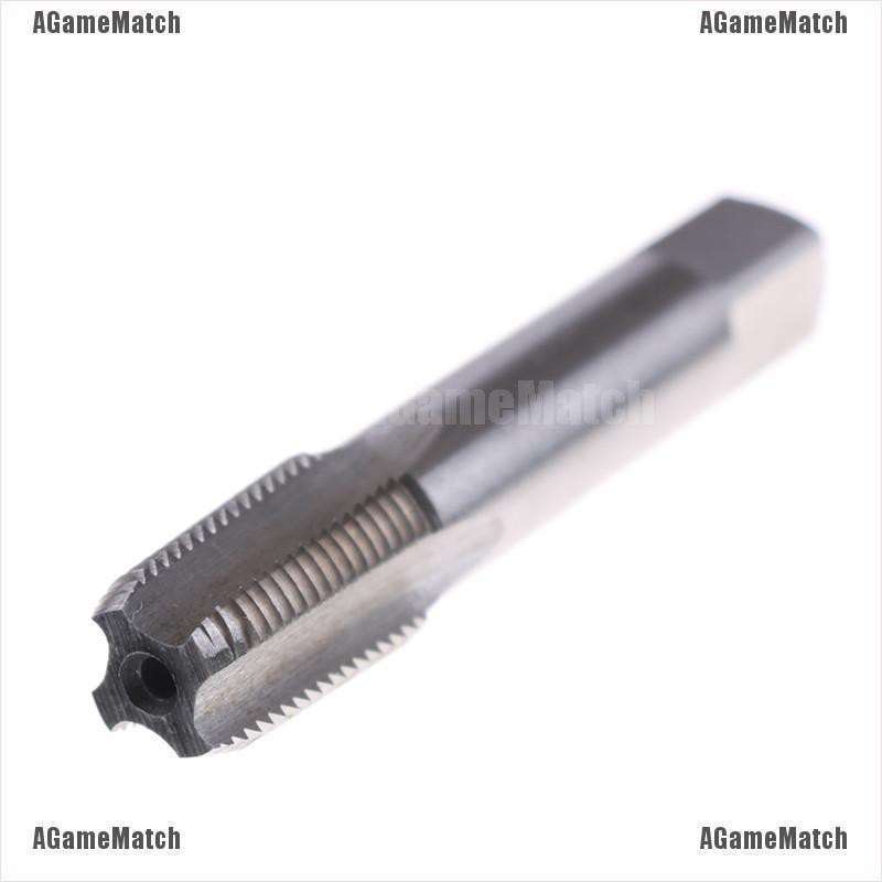 High Speed Steel Taper Pipe Tap NPT Thread Cutter Structure Concise Portable