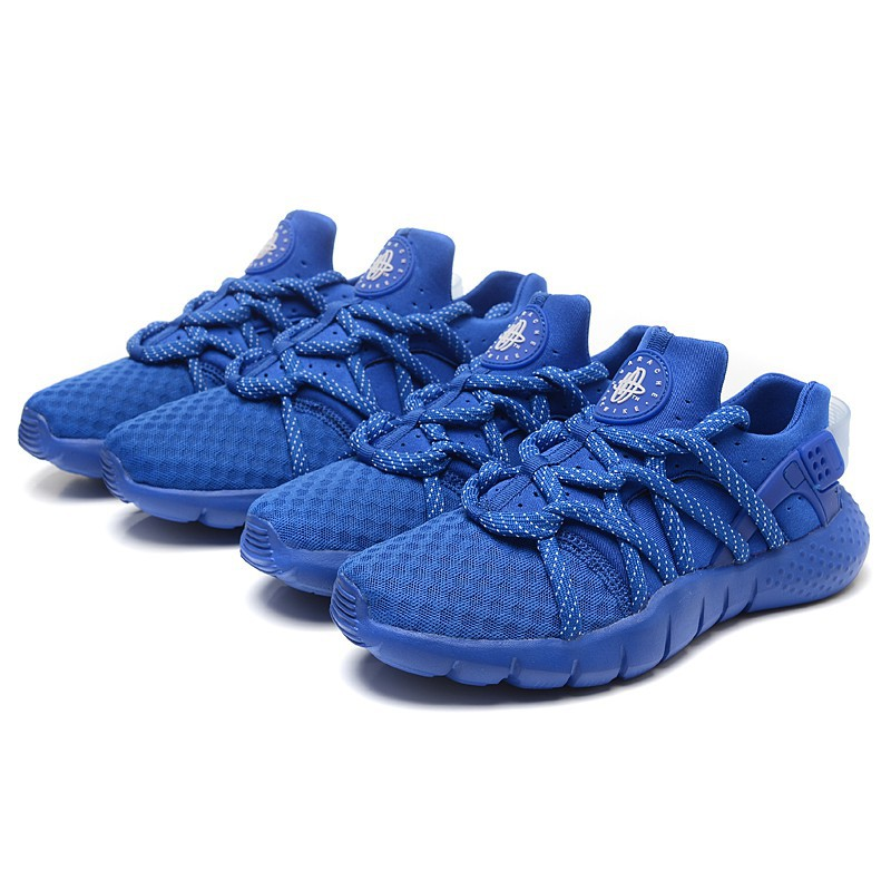 premium selection 44092 01ab7 Ready Stock NIKE AIR HUARACHE 2 Womens Shoes Casual Shoes All Blue