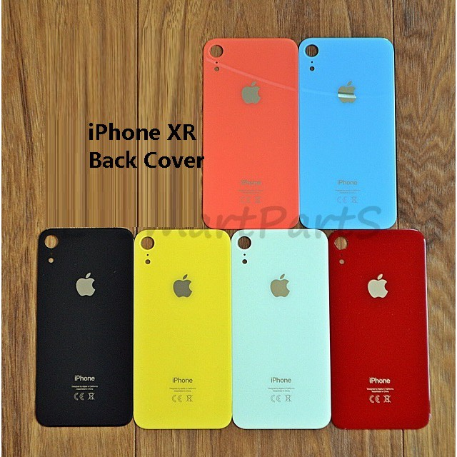 for iPhone Xs Max 6.5 Battery Cover Glass Housing Rear Back Door Replacement Parts,Gold