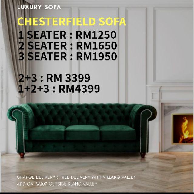 Aurora Chesterfield Sofa Sho Malaysia