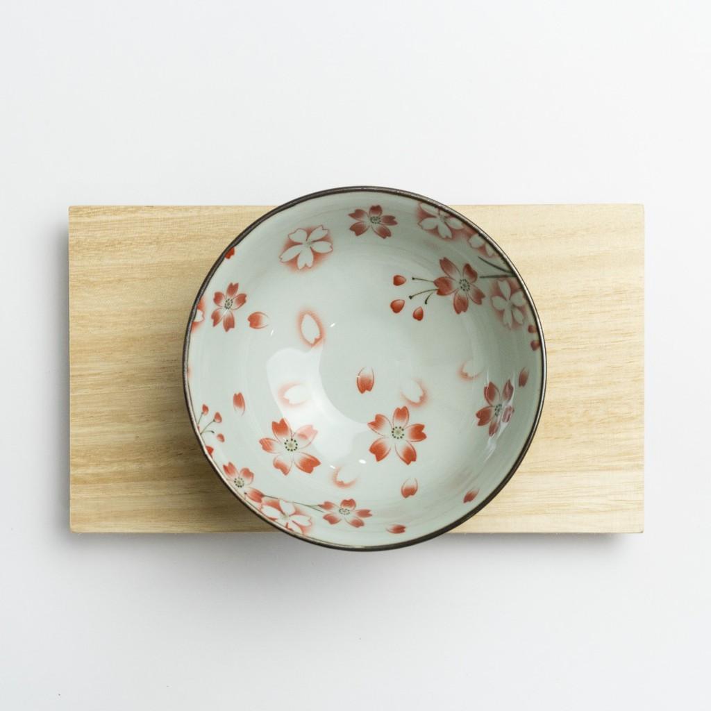 11.5cm Pink Japanese Mini Ramen Bowl Series Ceramic Cherry Blossoms Sakura Cute Bowl Mangkuk Jepun 日式古典风陶瓷碗