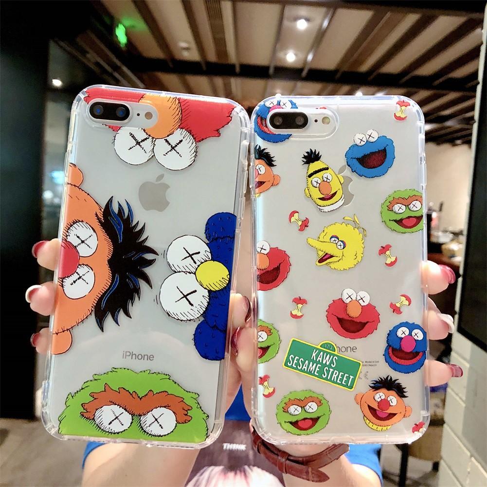 iPhone 6 6s 7 8 Plus iPhoneX Xs Max Xr Case Soft Casing Cartoon Cute Case  903