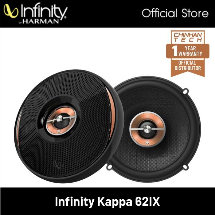 "Infinity Kappa 62ix 6-1/2"" 2-way car speakers"