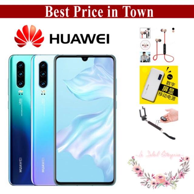 Huawei P30 (8GB+128GB) Original Huawei Malaysia Warranty [FREE GIFT]