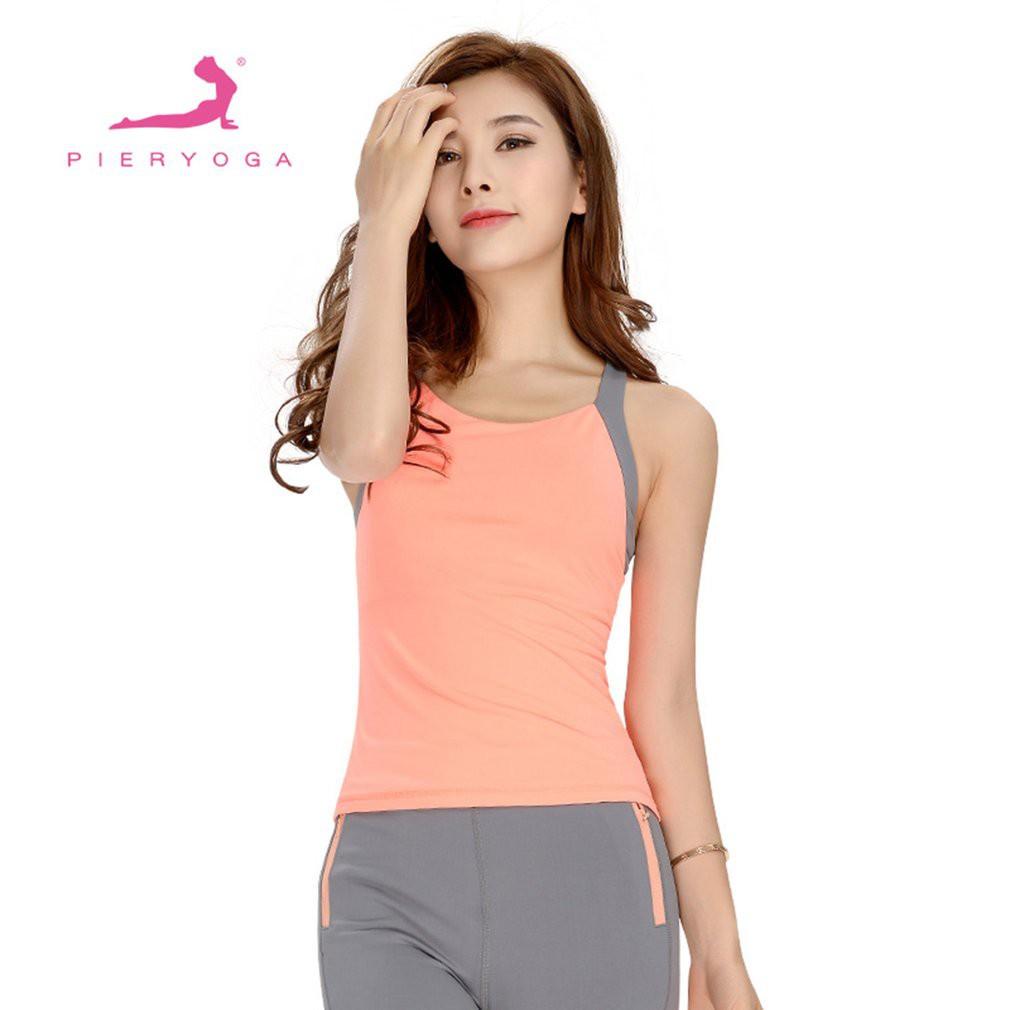 521ef471e71b7f ProductImage. ProductImage. FMD♥Wide Shoulder Strap Sports Top Back ...