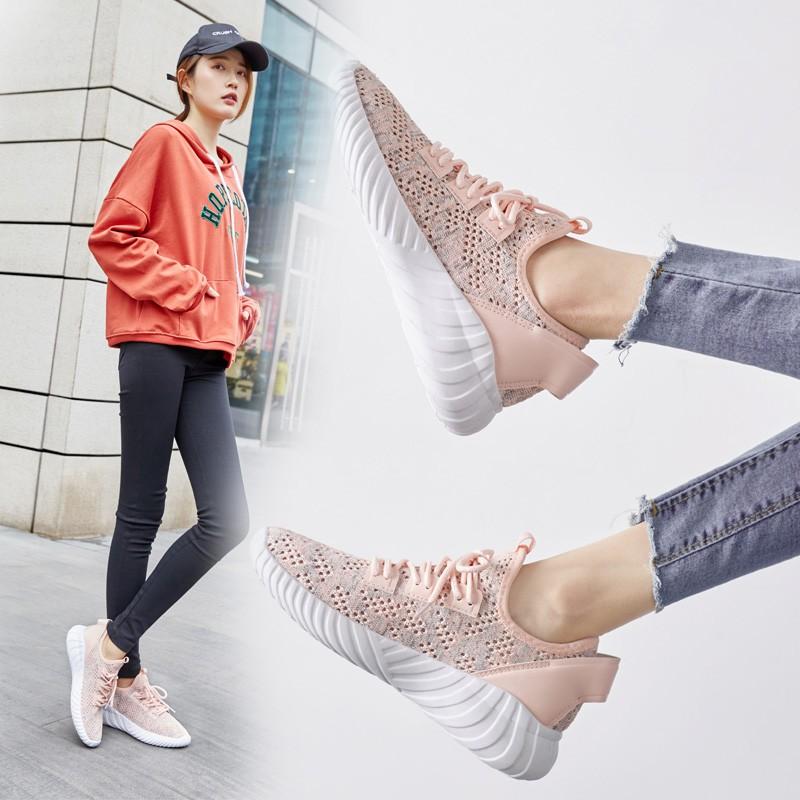 【สต็อกพร้อม】EU35-40 รองเท้าผู้หญิงรองเท้ากีฬารองเท้าลำลอง รองเท้า รองเท้าแฟชั่น รองเท้าผ้าใบ รองเท้าผู้หญิแ