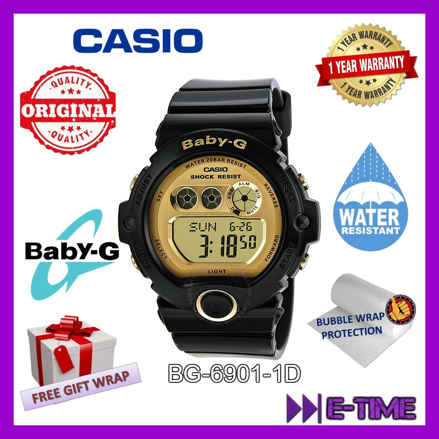 Casio Original Baby G Ladies Sport Ba 112 7a Casual With Warranty Card And Box Shopee Malaysia