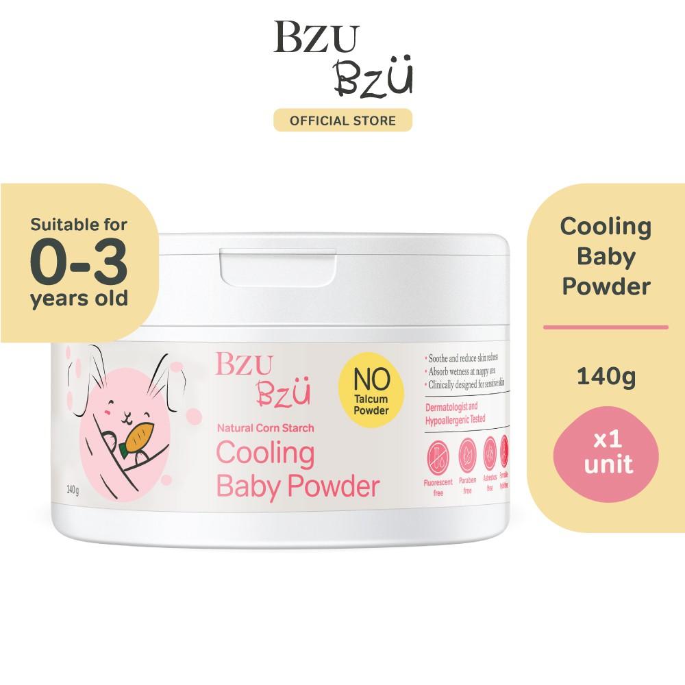 BZU BZU Cooling Baby Powder with Puff (140g)