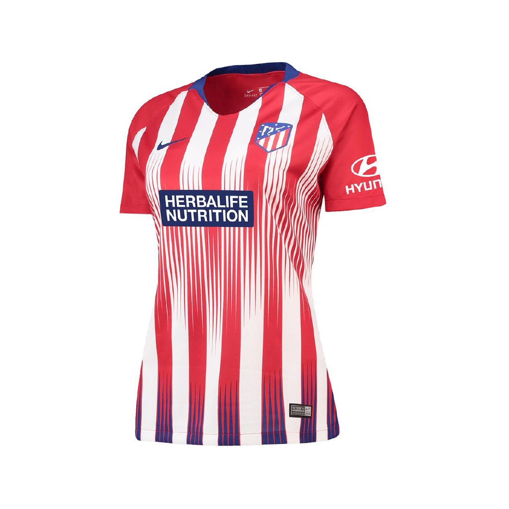 Atletico Madrid Women Home Season 18/19 Stadium Fans Jersey