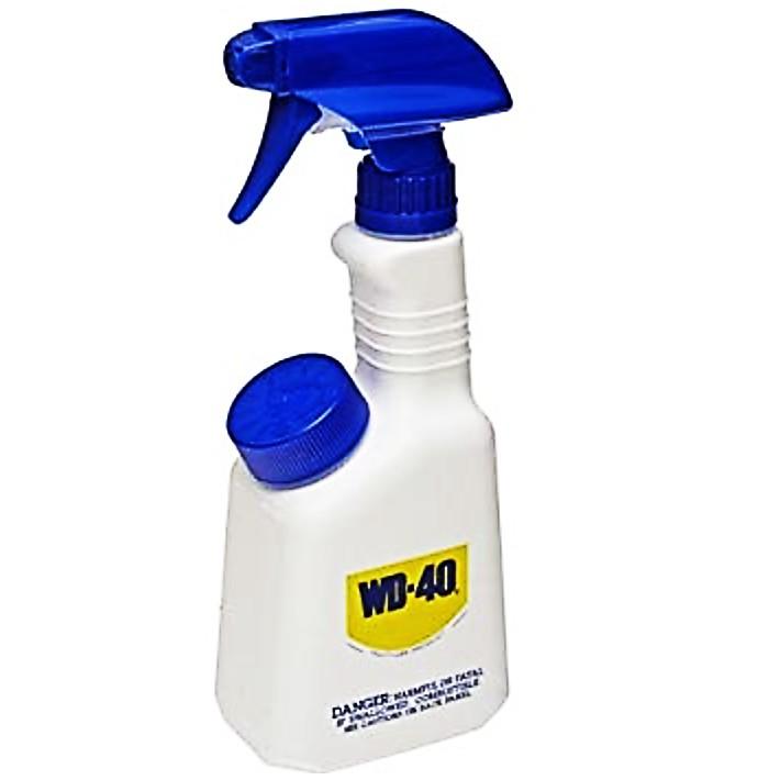 WD-40 Adjustable spray nozzle Lubricant PVC Plastic Spray Applicator Refill Bottle