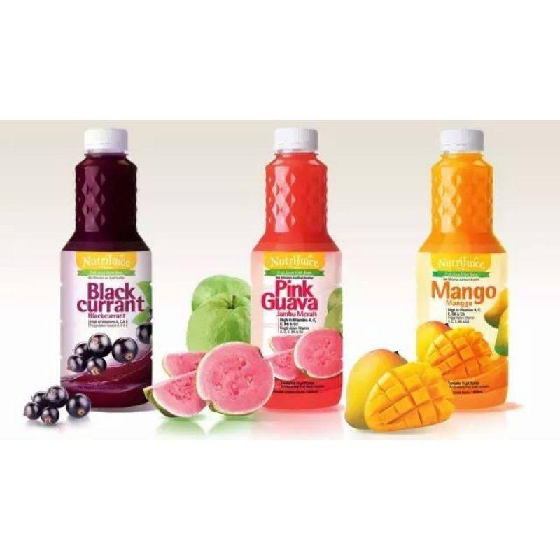Cosway Nutri Juice Pink Guava /Mango/Blackcurrant 1000ml