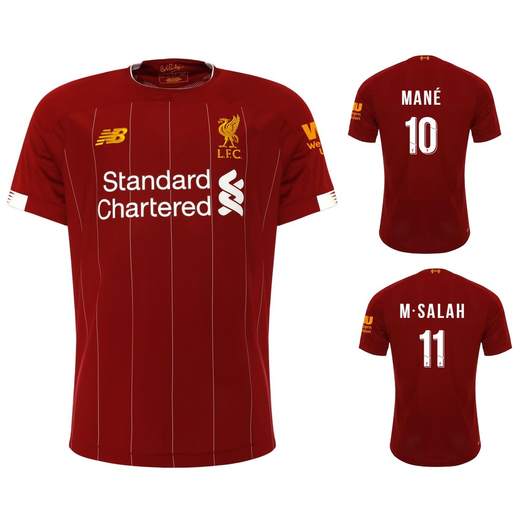 low priced 1b312 3f852 1:1 Copy ori 2019/2020 Liverpool Home football soccer kit jersey top quality