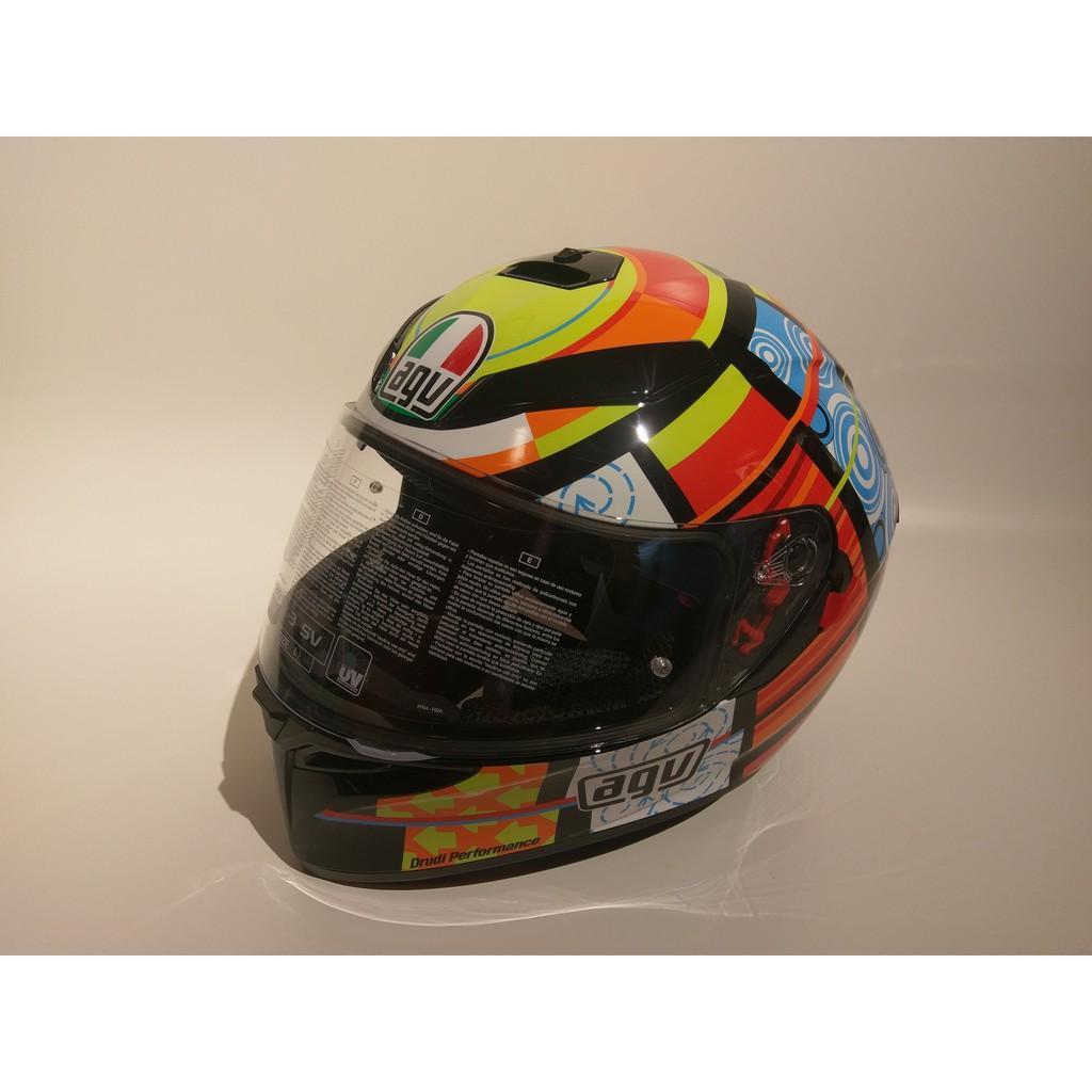 Agv K3 Sv Elements Helmet Shopee Malaysia