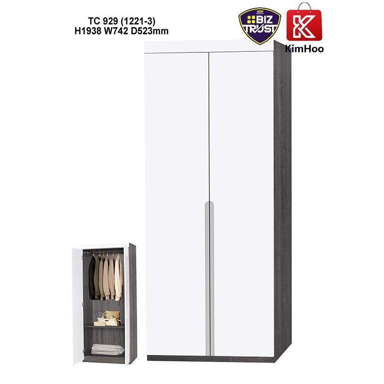 High Quality & Modern Design 2 Doors Swing Wardrobe TC-929 Series