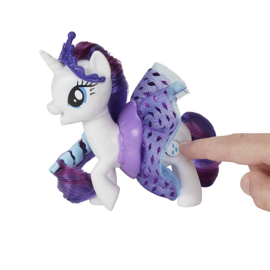 My Little Pony The Movie Sparkling & Spinning Skirts Rarity E0688/E0186 Hasbro