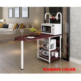 Bar Counter Kitchen Stand Storage