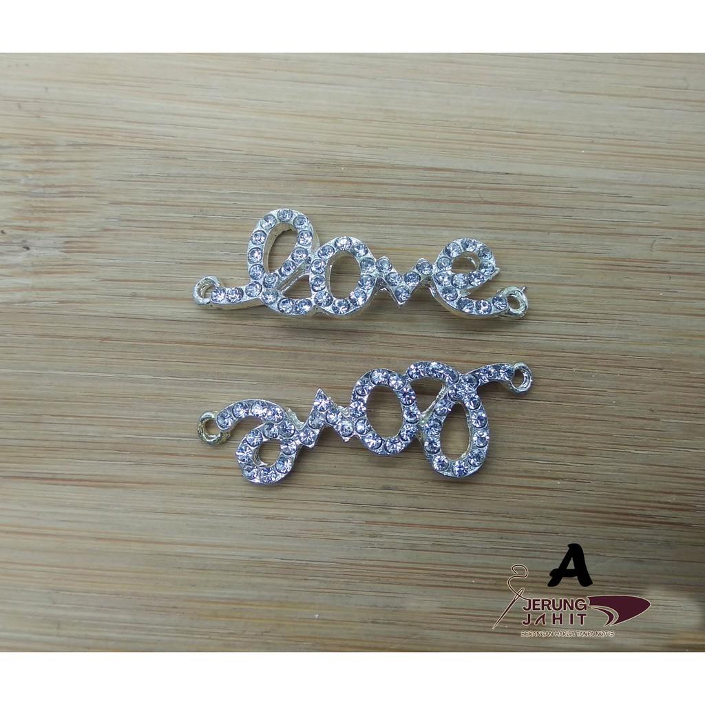 Charm Tudung Diamond with Hook(RM3/2pcs)