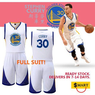 huge selection of 484b2 83eb7 NBA GSW Stephen Curry jersey and pants (1 full set)
