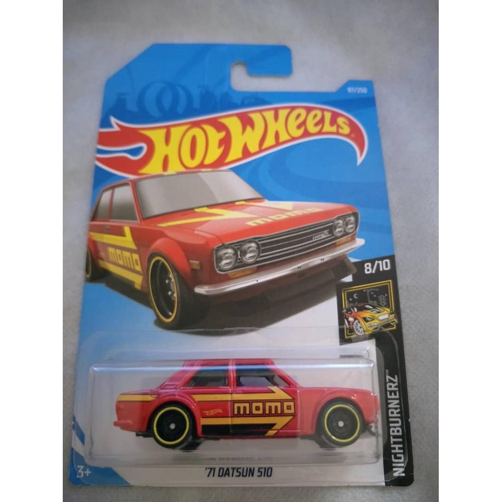 Hotwheels '71 Datsun 510 Momo
