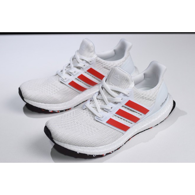 cobija colgar Casarse  Readystock Adidas Ultra Boost 4.0 Red Stripes Cloud White/Active Red-Chalk  White DB3199 Running Shoes | Shopee Malaysia