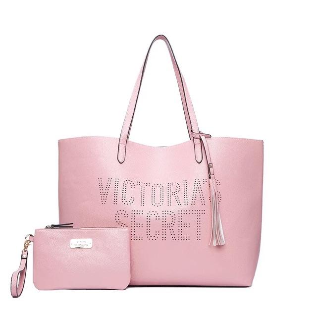 3e03b6966faed Buy one free one Victoria's secret Stylish simple handbag, one shoulder bag