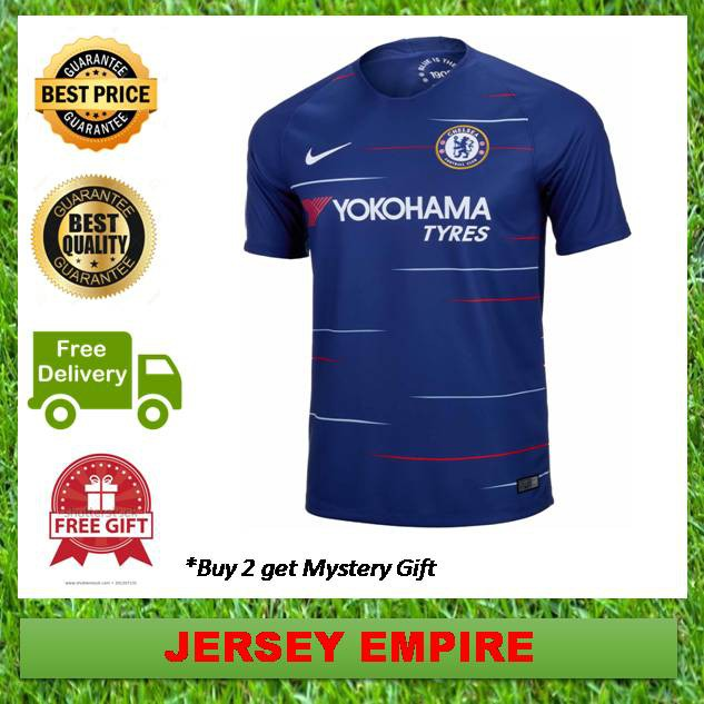 82386b831b7 ProductImage. ProductImage. (Ready Stock) Chelsea Football Jersey Home ...