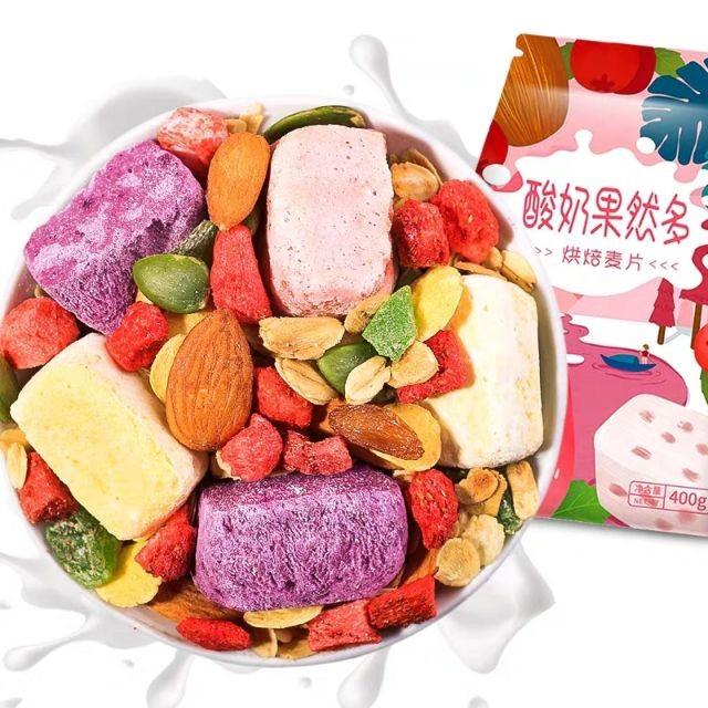 Yogurt Fruit Cereal 酸奶果粒麦片 400g