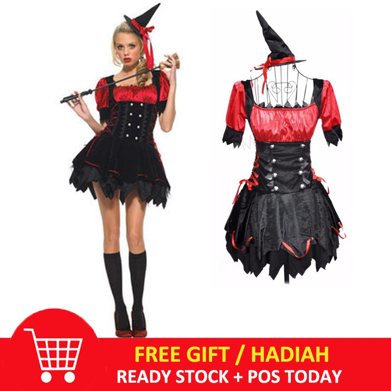 Black Ruffle Adult Women Gothic Witch Short Ballet Costume Skirt-One Size