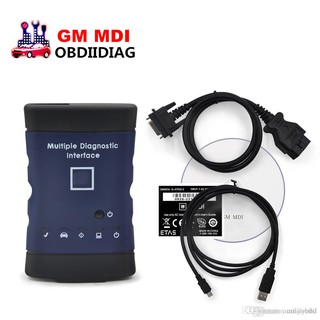 GM MDI 2017 3 software tech2 win GDS2 software in CD Multiple OBD2