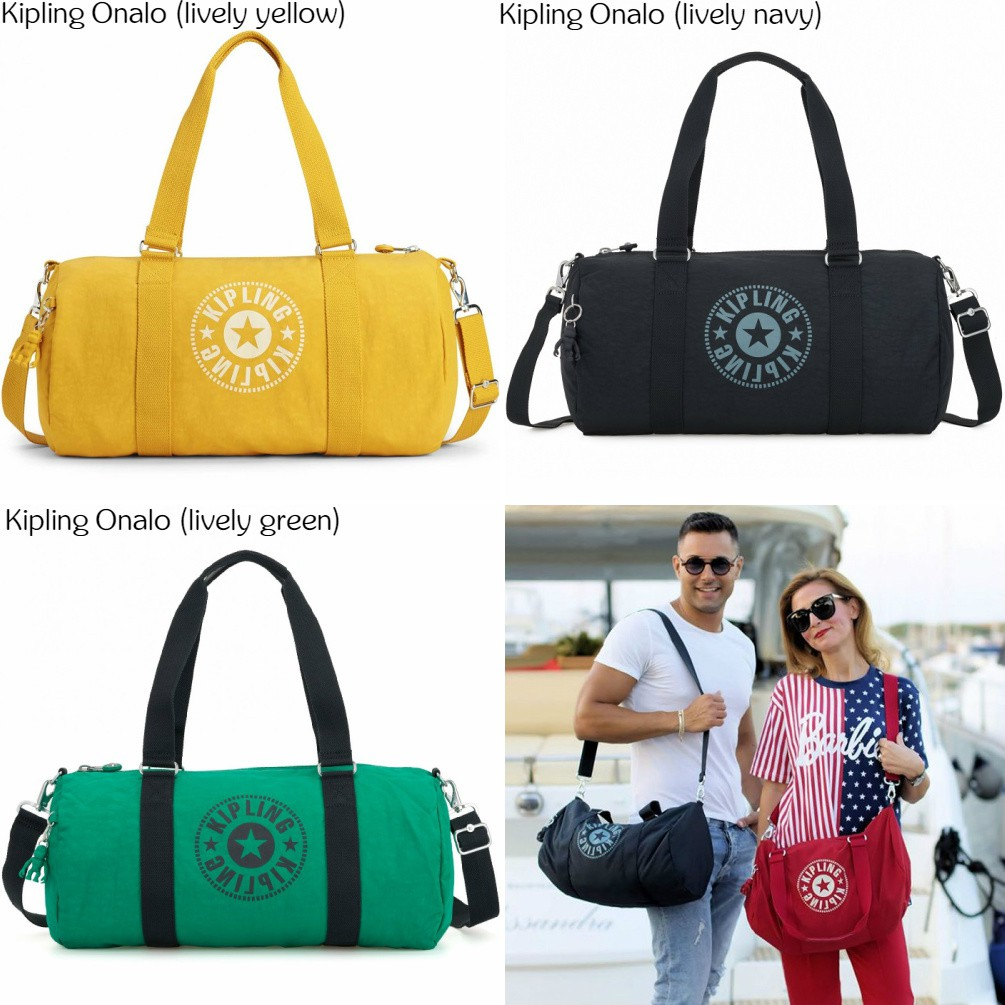 97c0c12f0f6d07 NWT Authentic Kipling Art M Large Gym Bag Travel Carry On Tote w Trolley  Sleeve | Shopee Malaysia