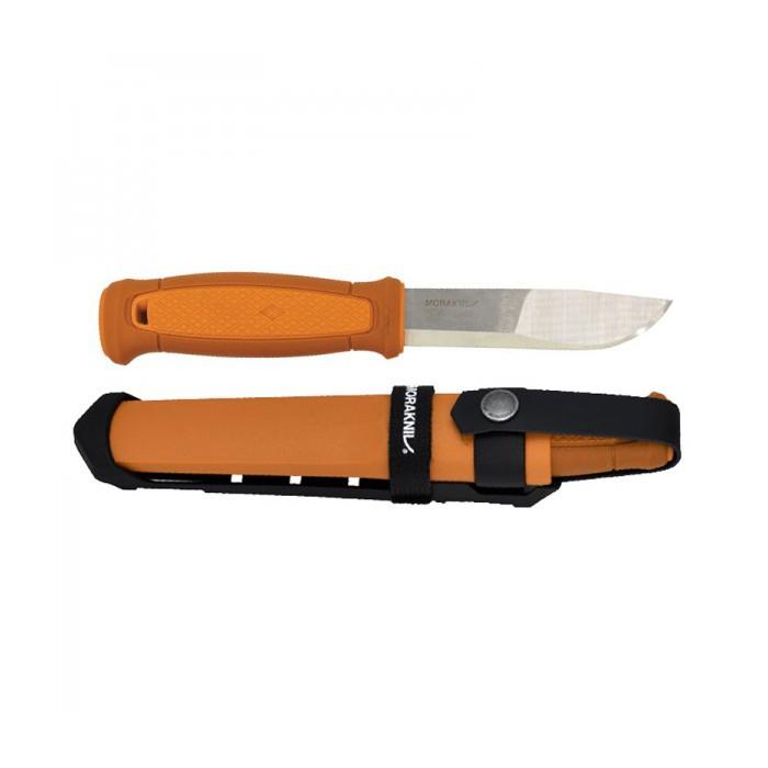 MoraKniv Kansbol Multi-Mount Burnt Orange (S) Outdoor Bushcraft Knife 13507