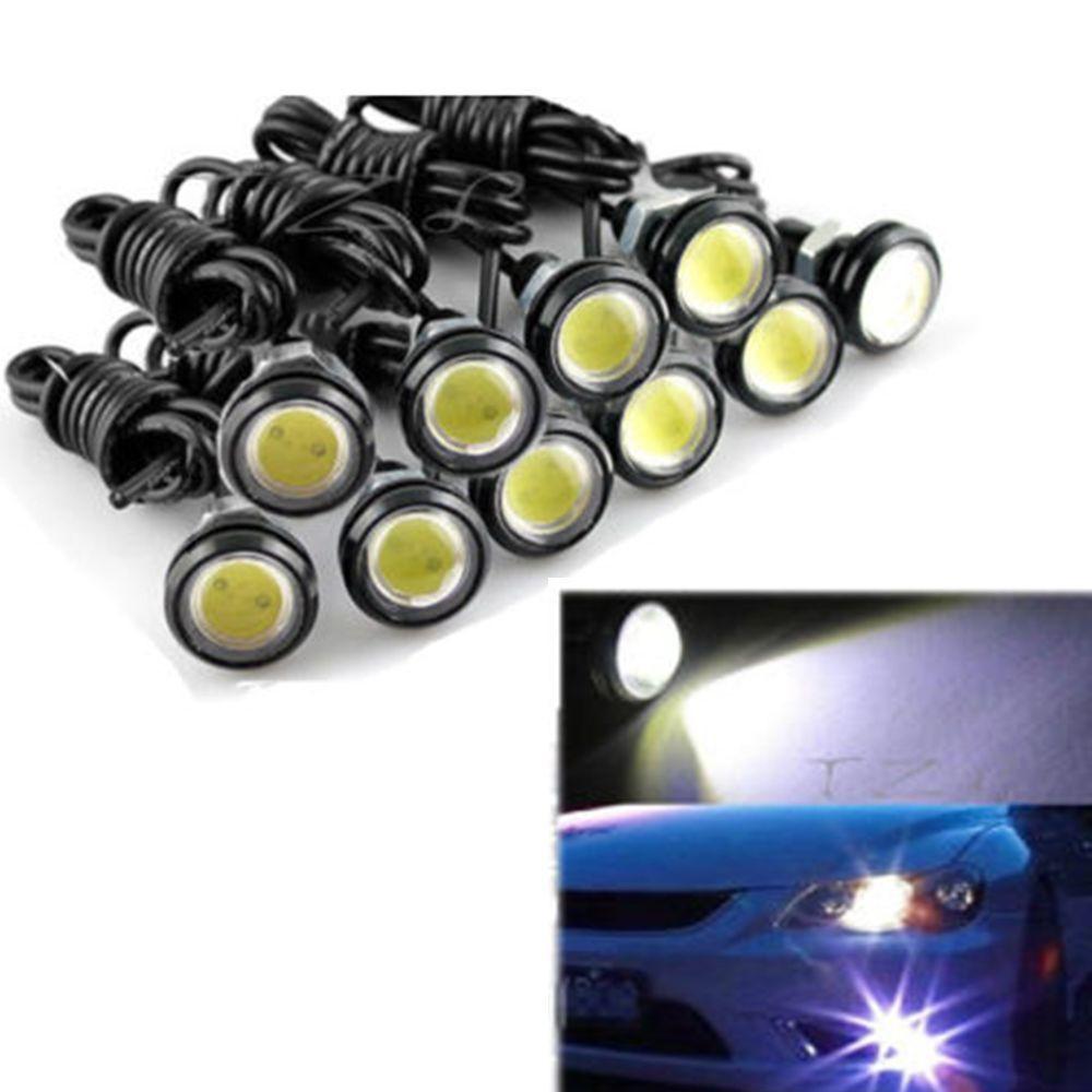 DIY 9W 12V LED Eagle Eye Backup Light Fog Driving Lamp Car Motorcycle Bulb