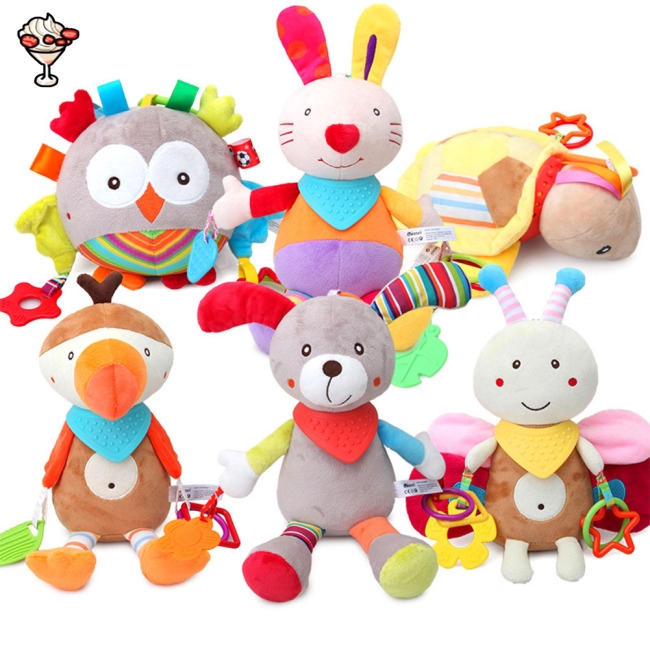 Toys For Infants >> Stuffed Animal Toys Baby Toys Infants Teether Dolls Brinquedos Birthday Gift