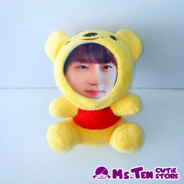 Creative Special Gifts Customized DIY 3D Face Toys Winnie the Pooh