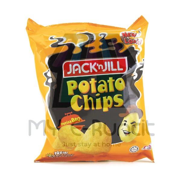 Jack N Jill Potato Chips Bbq 45g Shopee Malaysia