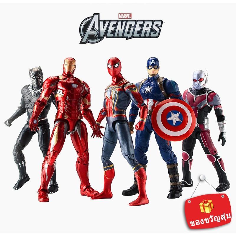 (original) avengers 4 โมเดลตุ๊กตาของเล่นสําหรั