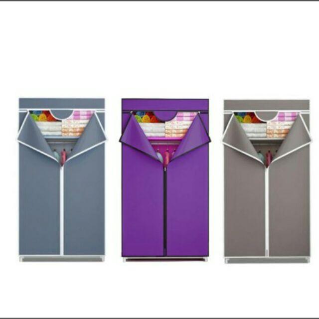 Zipped Wardrobe With Spacious Storage
