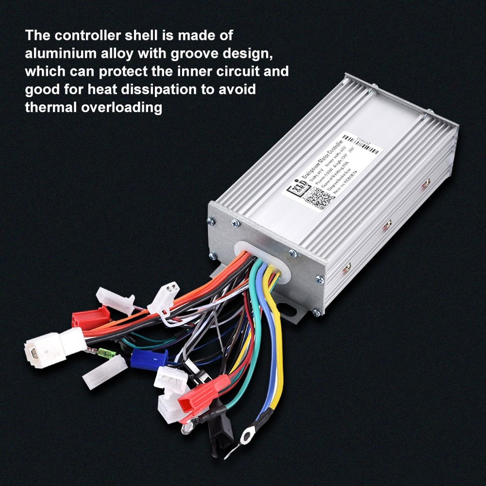 48V 500W Brushless Motor Sine Wave Controller for Electric Bicycle Scooter