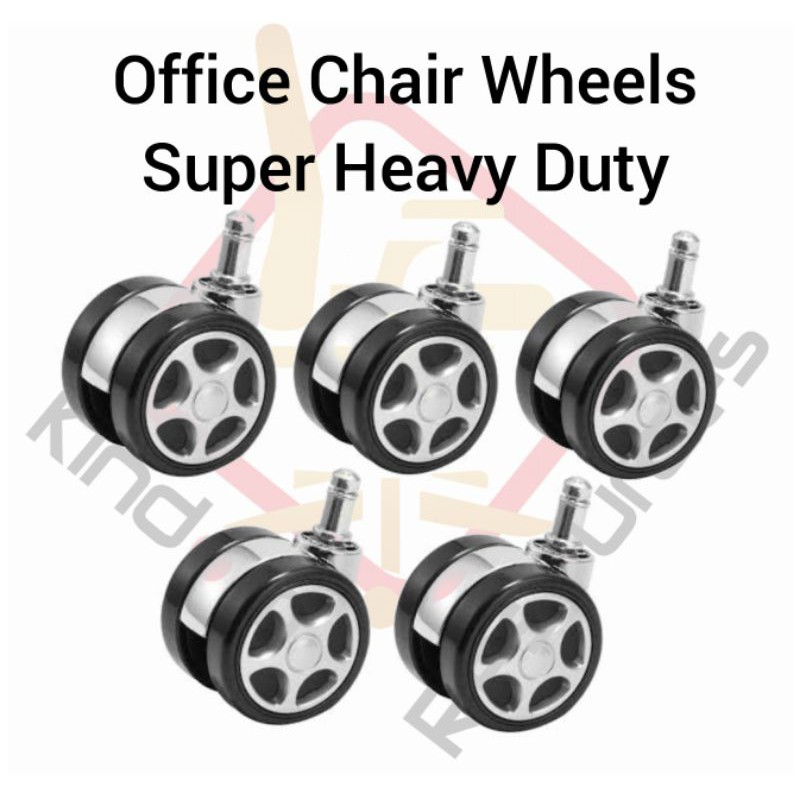 Office Chair Wheels (Sport Wheels) Suitable For All Type Of Office Chair