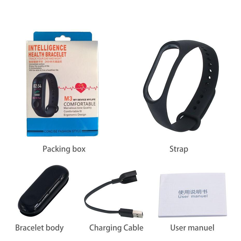 M3 M4 Smart Watch M4 Fitness Tracker Smart band Waterproof