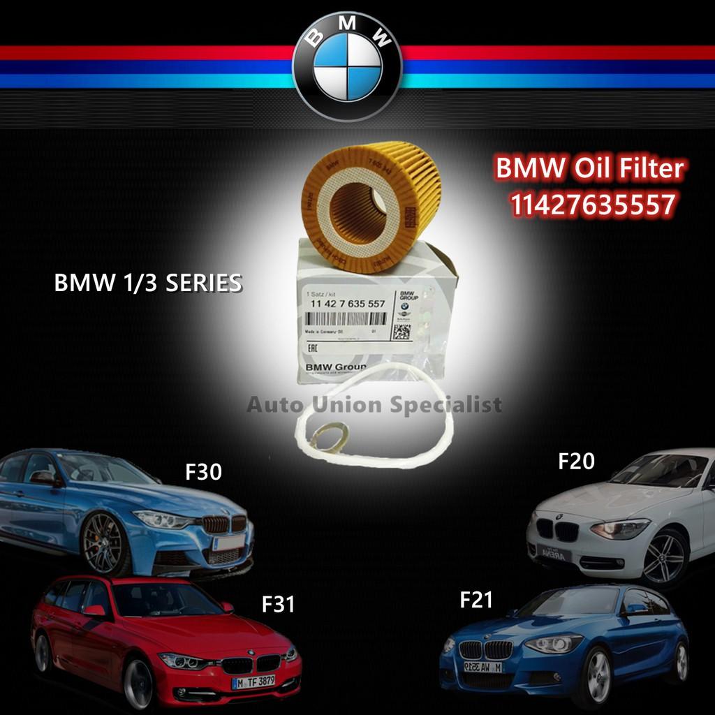 BMW OIL FILTER 11427635 557 -114i,F30/F31 F20/F21