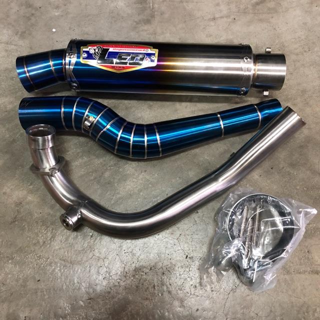 LEO Q51 LIMITED EXCITER TITANIUM exh pipe Y15