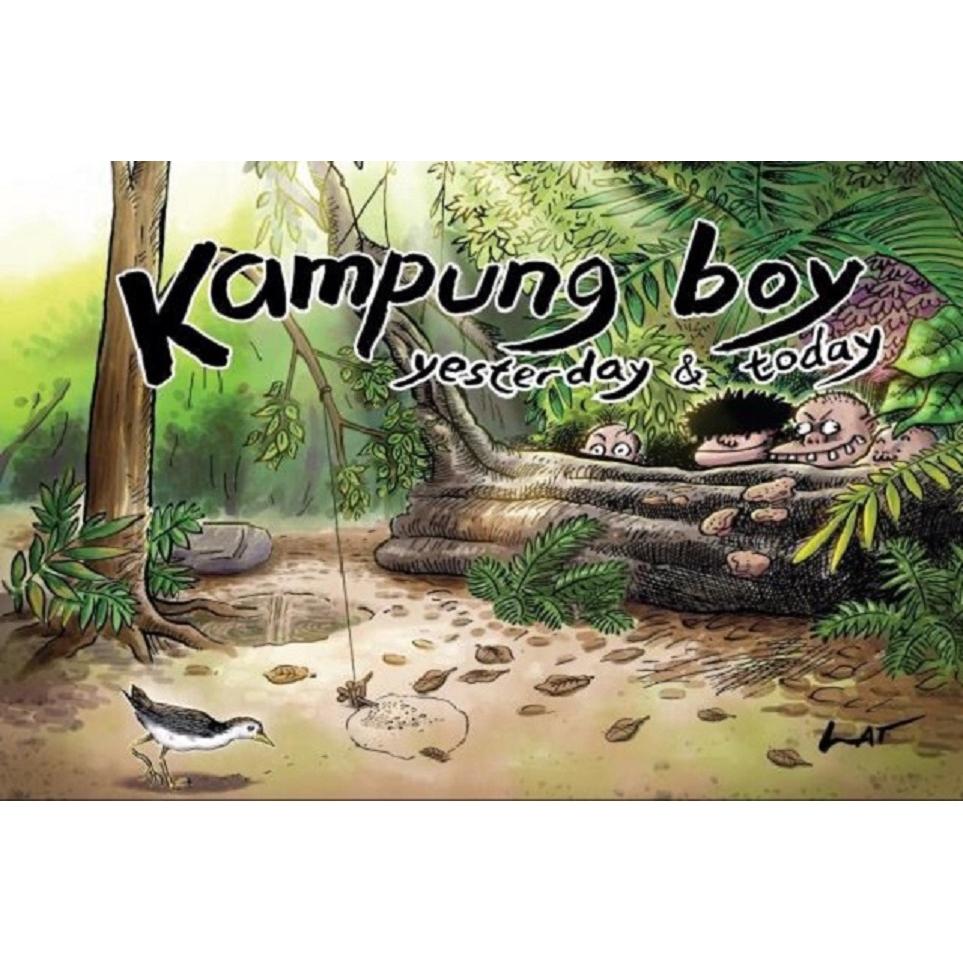 Kampung Boy: Yesterday & Today ISBN: 9789674152277