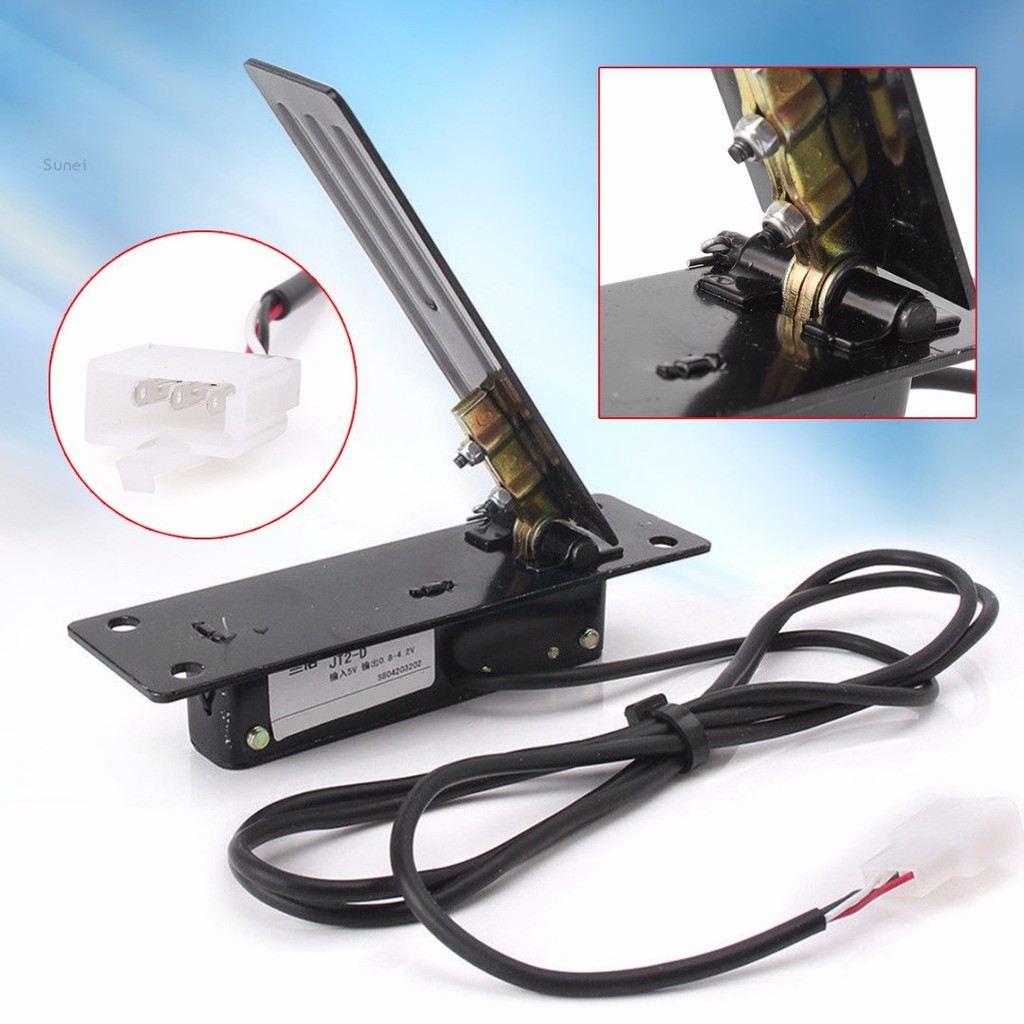 💗sunei💗Metal Hall Effect Electric Scooter Foot Pedal Throttle Accelerator