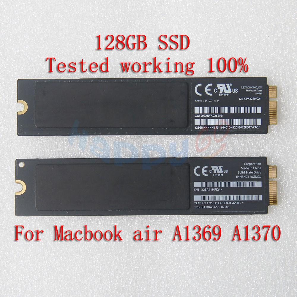 """Mid 2011 THNSNC256GMDJ 256GB SSD PCIE MacBook Air 11/"""" A1370 13/"""" A1369 L 2010"""