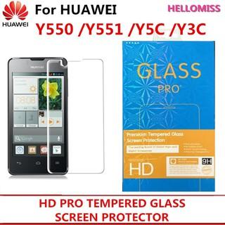 HUAWEI Y550 Y551 Y5C Y3C TEMPERED GLASS SCREEN PROTECTOR