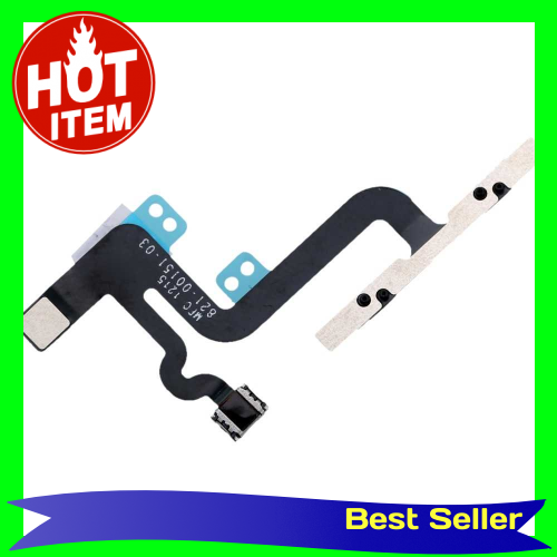 Volume Button Repair Fix Replace Replacement Parts with Mute Silent Vibrator Flex Cable for iPhone 6S Plus (Standard)